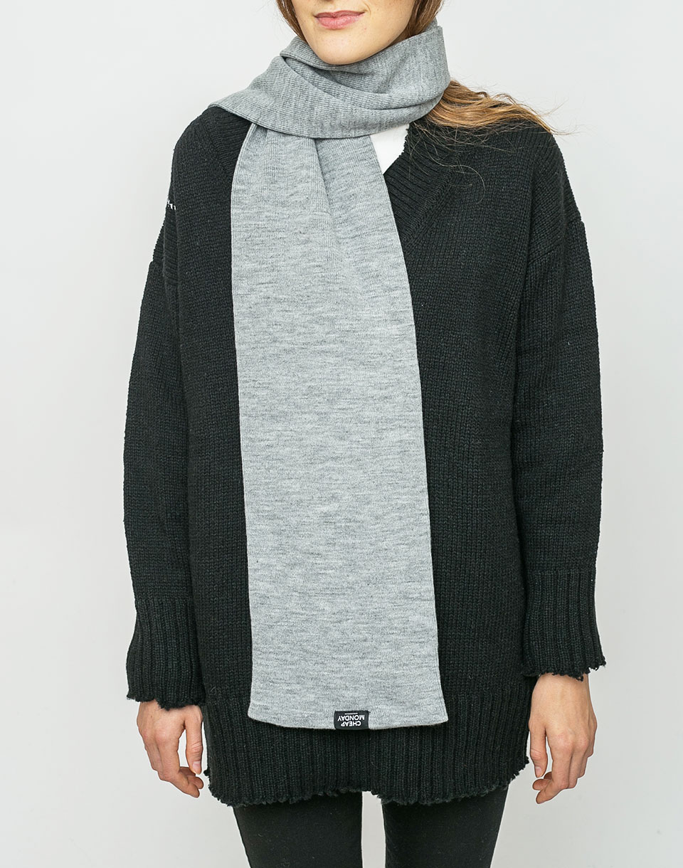 Cheap Monday Cheap Scarf Grey Melange