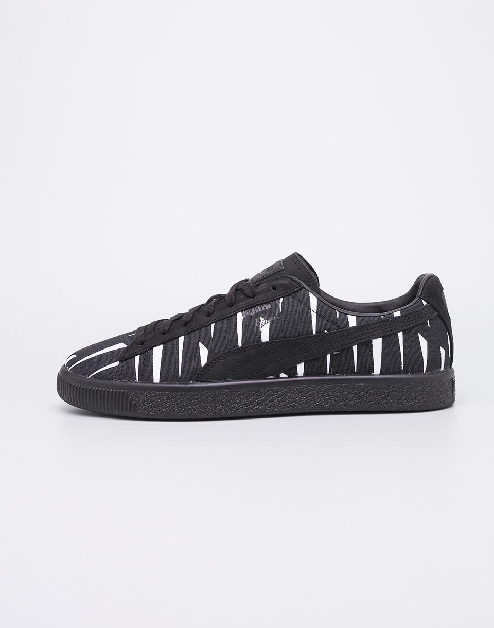 Sneakers - tenisky Puma Naturel Clyde Black Rain Puma Black-Puma Black 44 + doprava zdarma + novinka