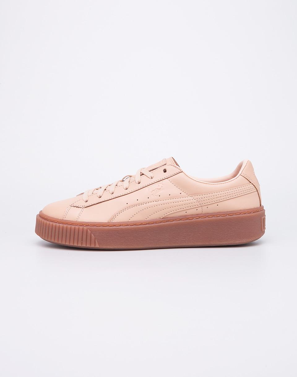 Sneakers - tenisky Puma Naturel Platform Veg Tan Natural Vachetta 41 + doprava zdarma + novinka