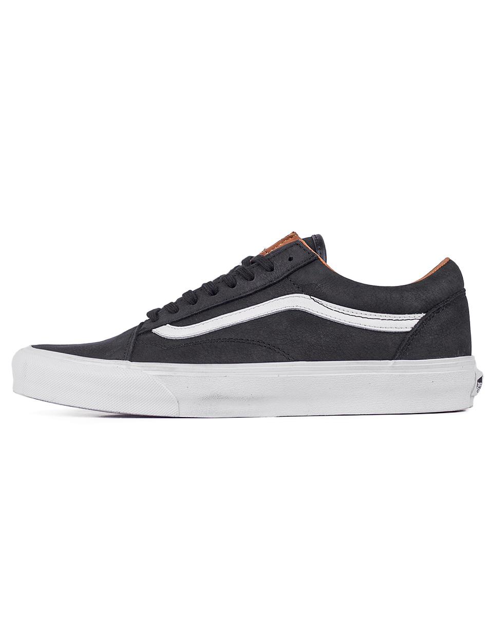 Sneakers - tenisky Vans Old Skool (Premuim Leather) Black / True White 41 + novinka
