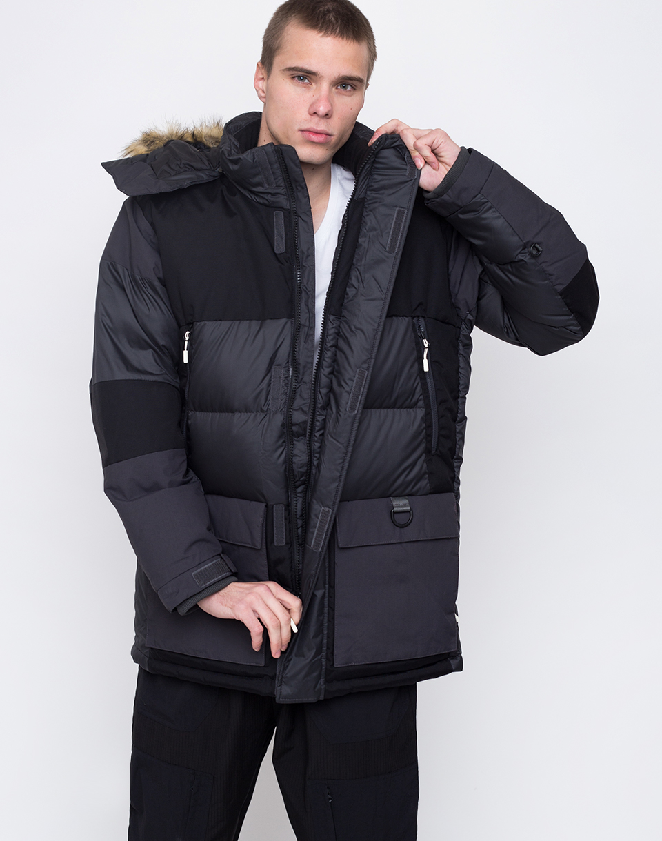 The North Face VOSTOK Asphalt Grey   Tnf Black L