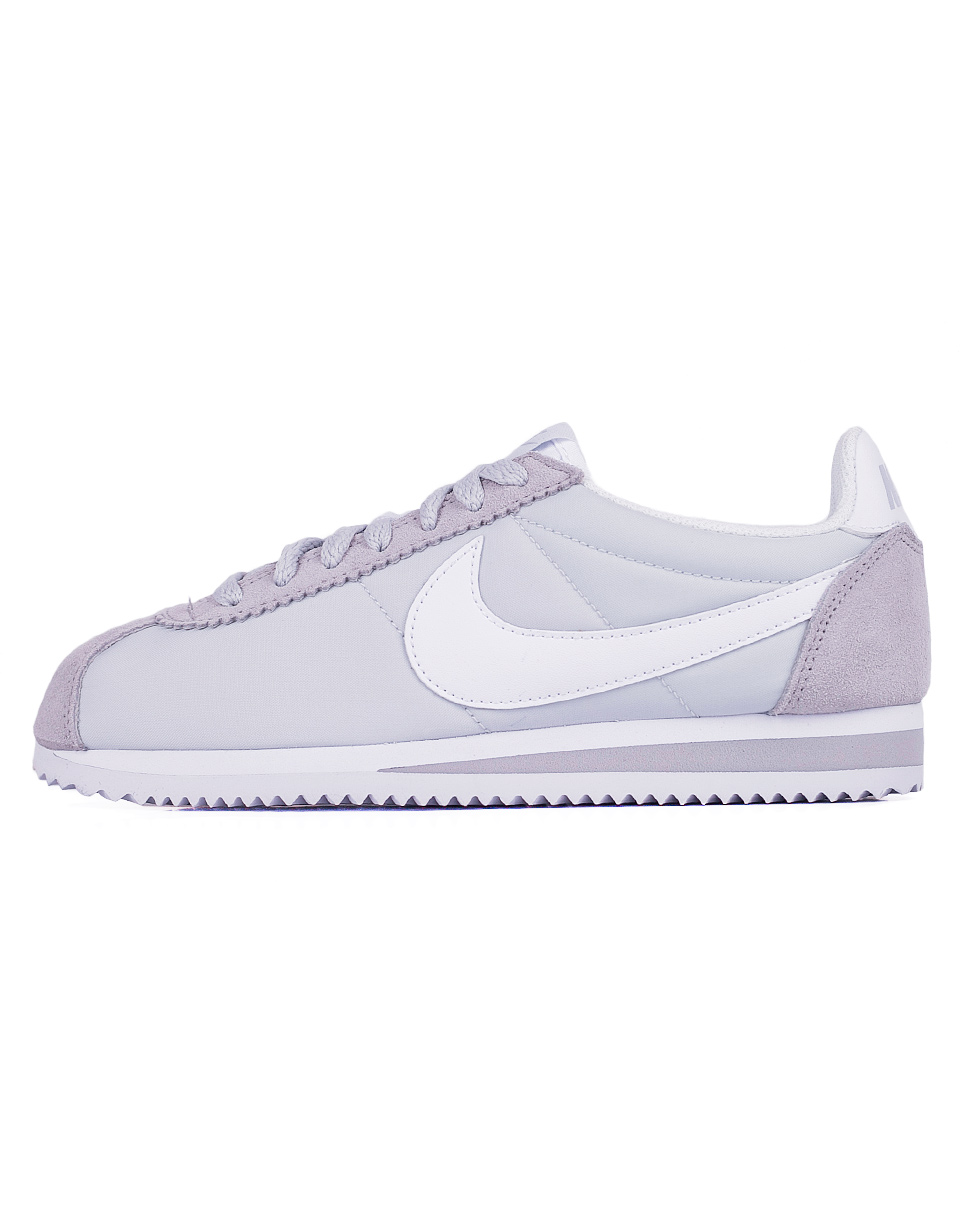 Sneakers - tenisky Nike Classic Cortez Nylon Pure Platinum / White 38