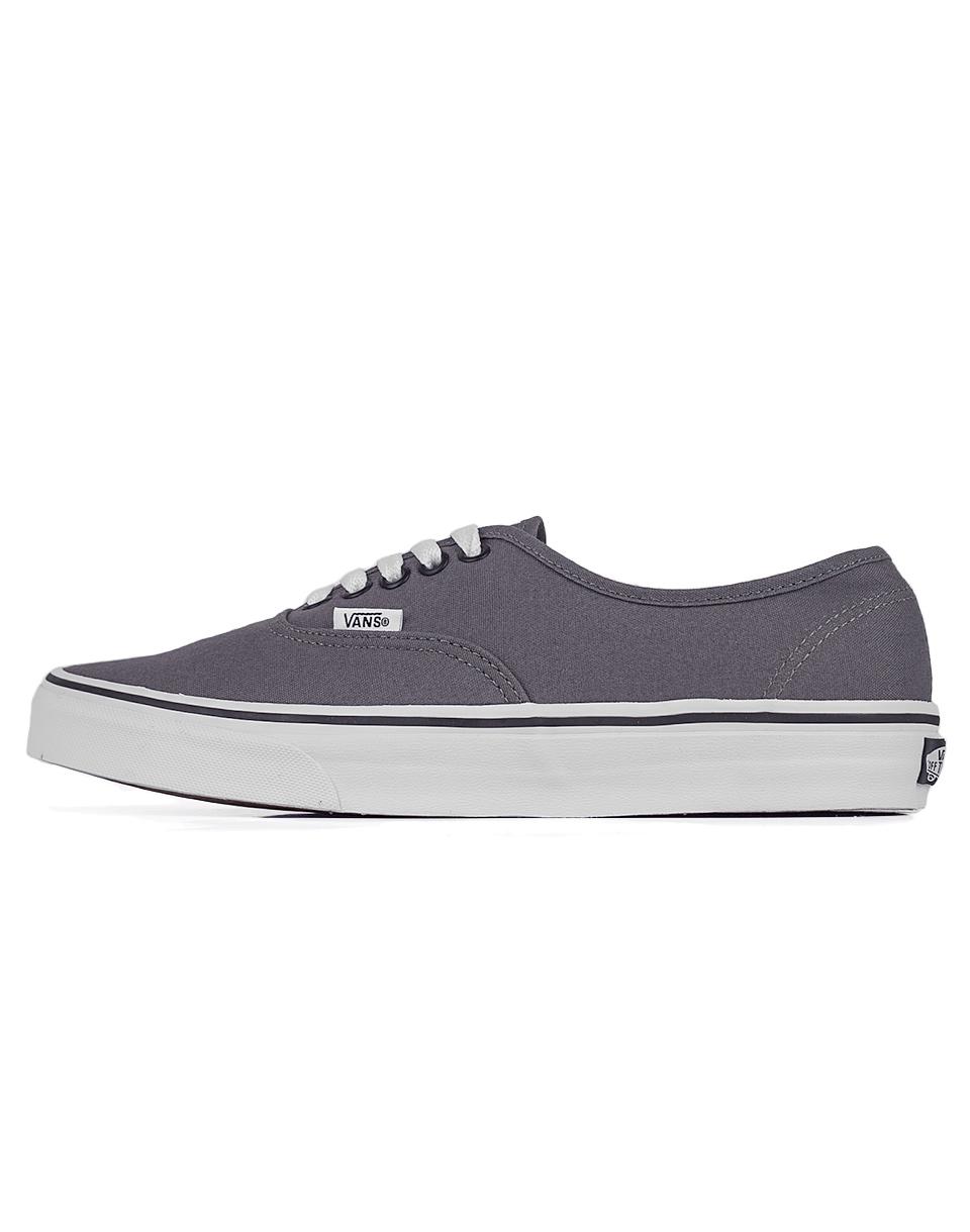 Sneakers - tenisky Vans Authentic Pewter / Black 41