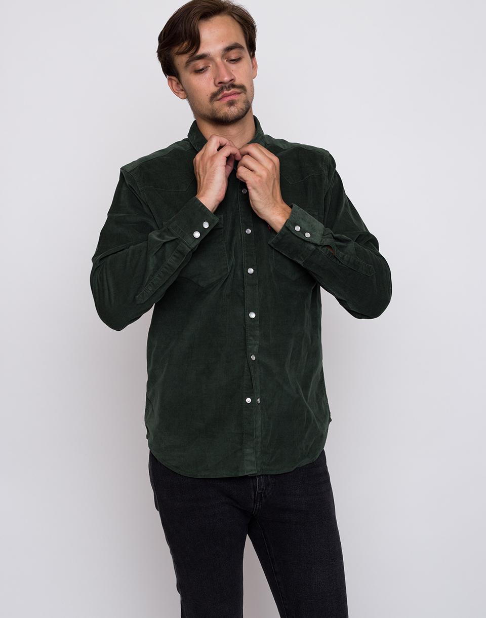 Levi´s® Barstow Western Python Green L