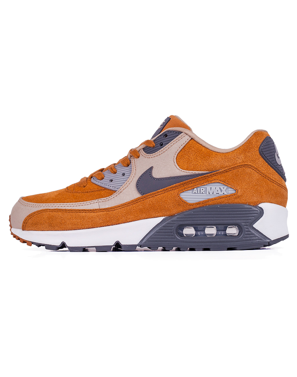 Sneakers - tenisky Nike Air Max 90 Premium Desert Ochre / Dark Grey - Linen 43 + doprava zdarma + novinka
