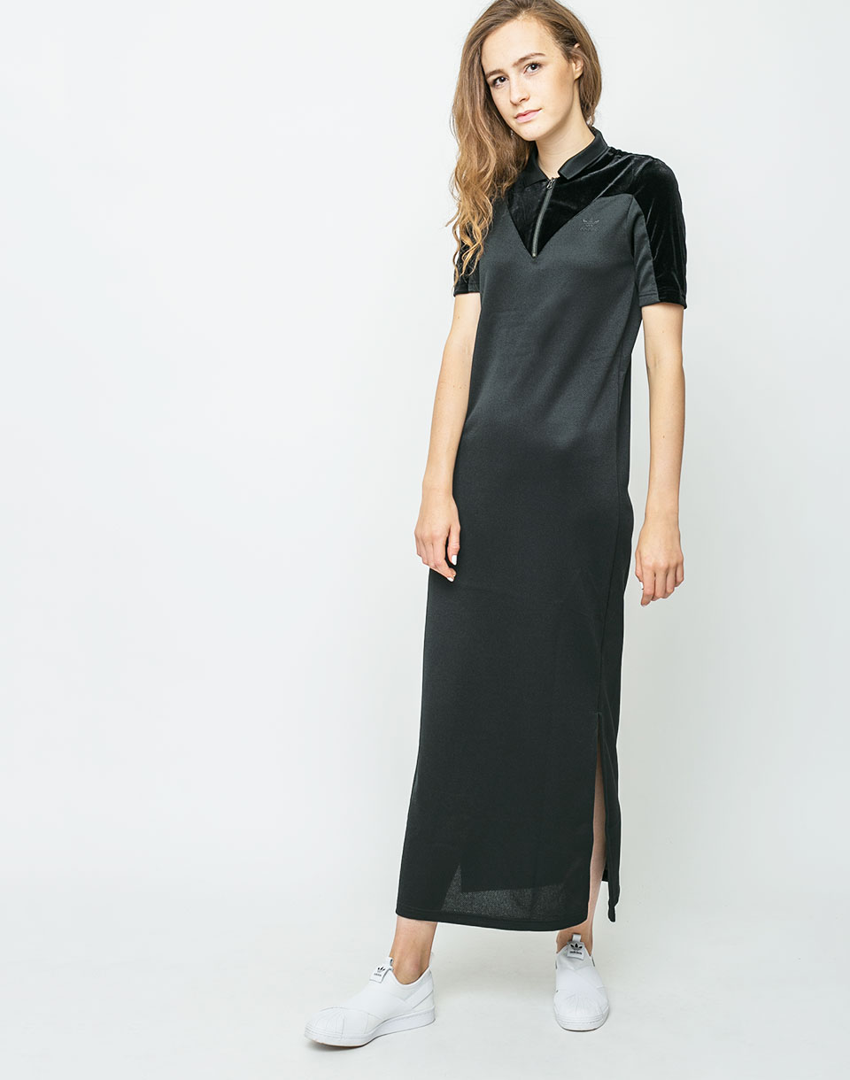 Adidas Originals VV Long Tee Dress Black 36