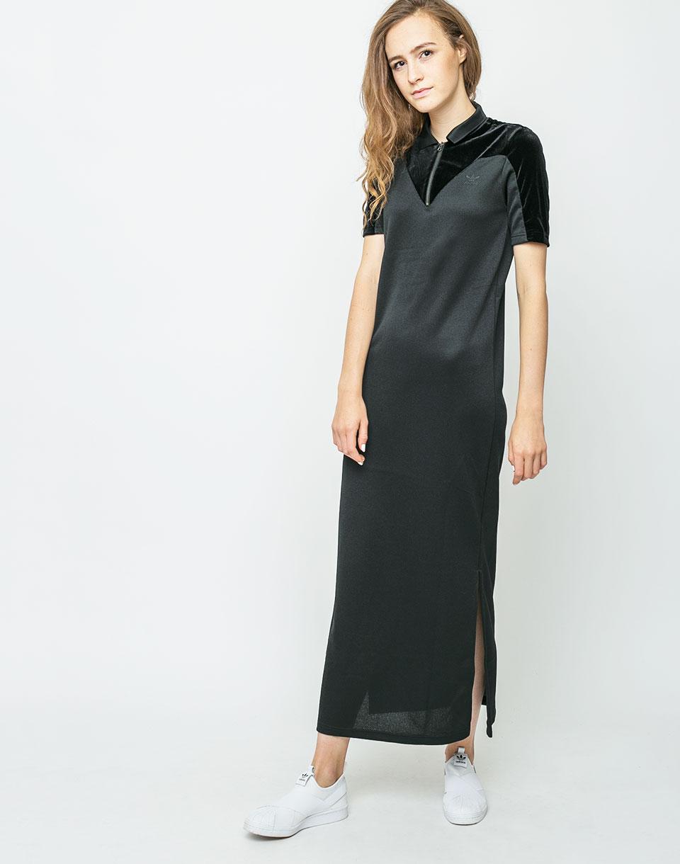 Šaty Adidas Originals VV Long Tee Dress Black 36