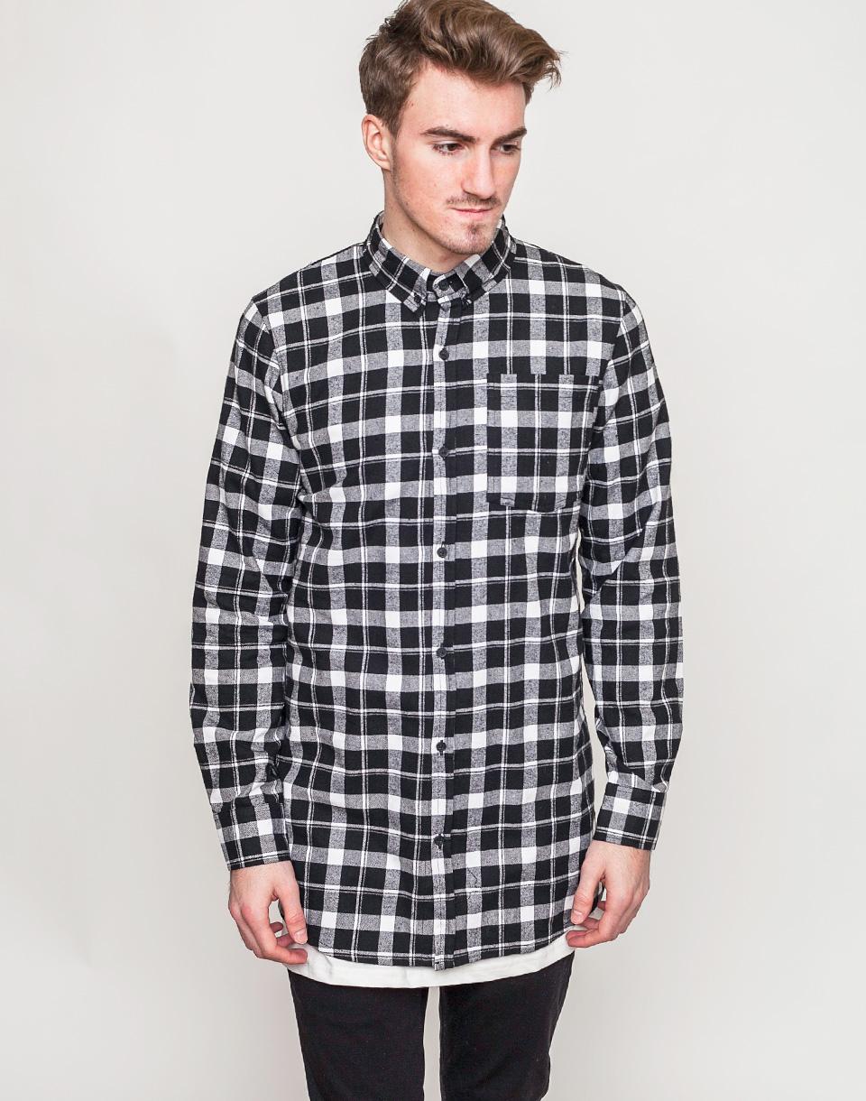 Košile DRMTM Ninjack Shirt Black / White S