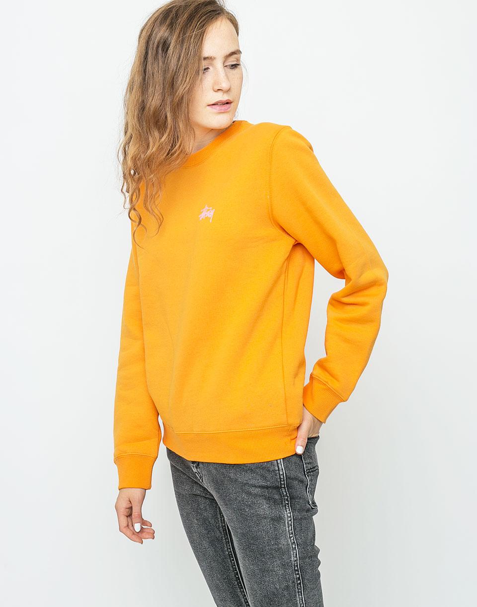 Mikina Stussy Basic Crew Apricot l + novinka