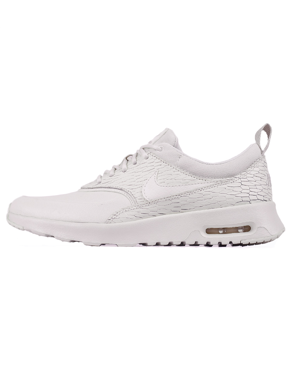 Sneakers - tenisky Nike Air Max Thea Premium Leather Sail / Sail - Light Bone - White 38 + doprava zdarma
