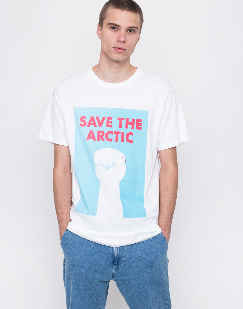 Dedicated Save The Arctic White L