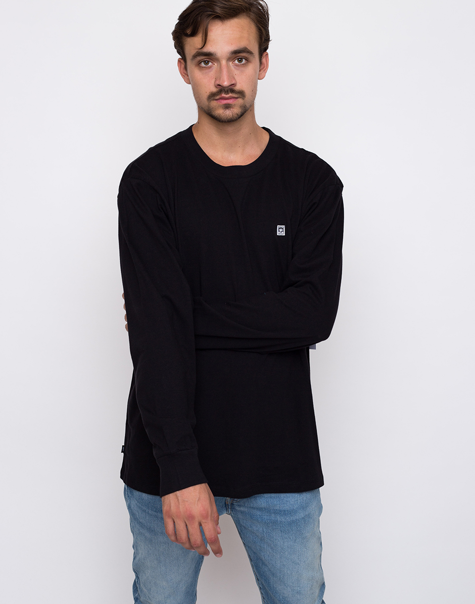 Obey Eighty Nine Solid Box Black L