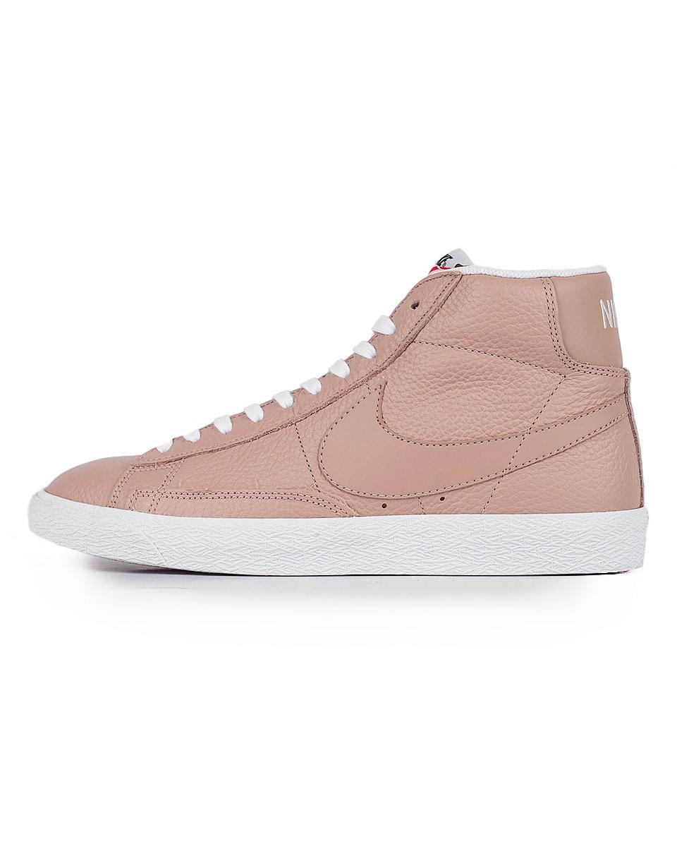 Sneakers - tenisky Nike Blazer Mid-Top Premium Linen / Summit White 44