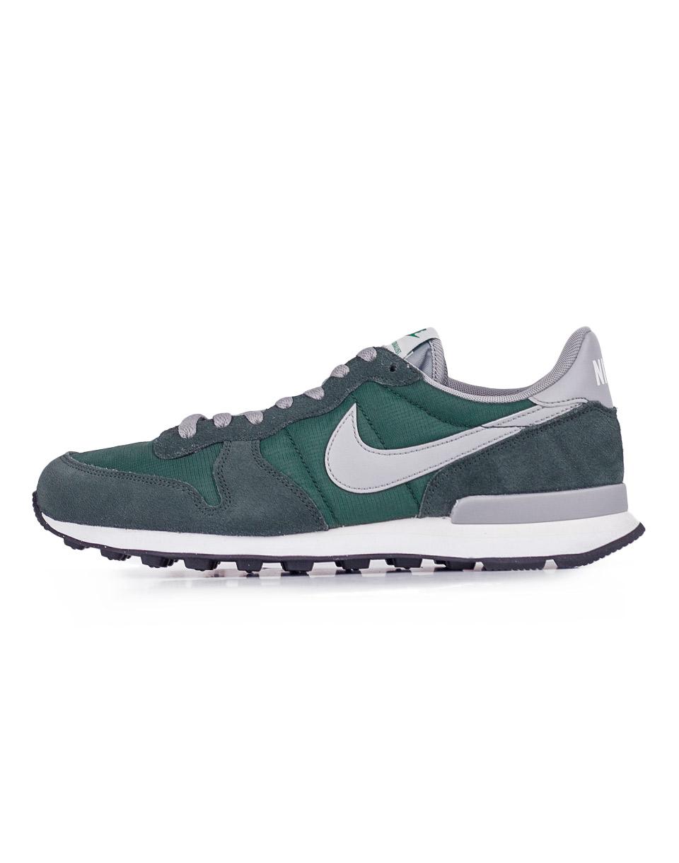Sneakers - tenisky Nike Internationalist Gorge Green / Matte Silver 43