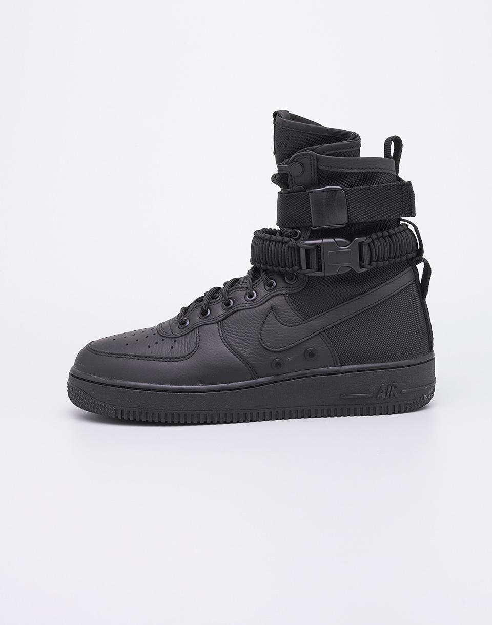 Sneakers - tenisky Nike SF Air Force 1 Black/Black-Black 37,5 + doprava zdarma