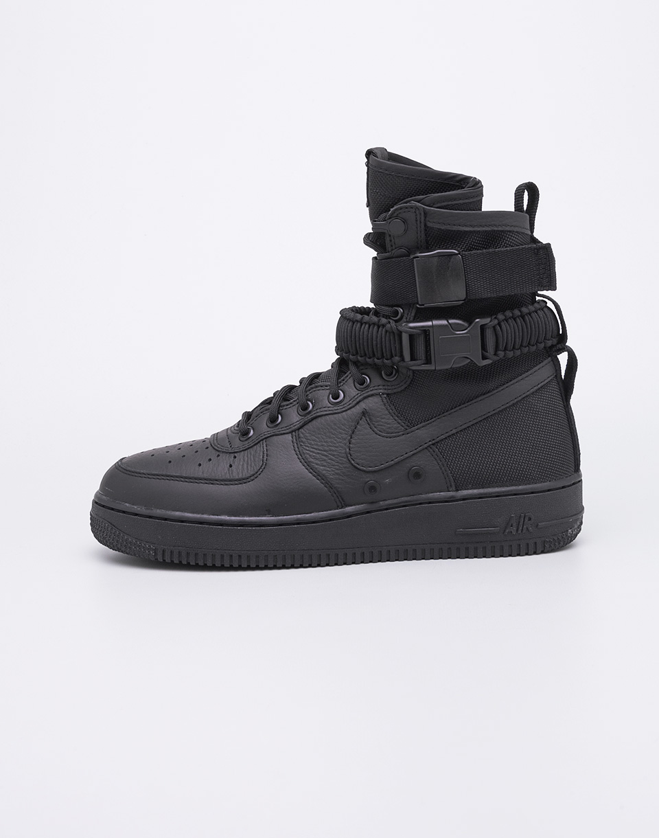 Sneakers - tenisky Nike SF Air Force 1 Black/Black-Black 41 + doprava zdarma