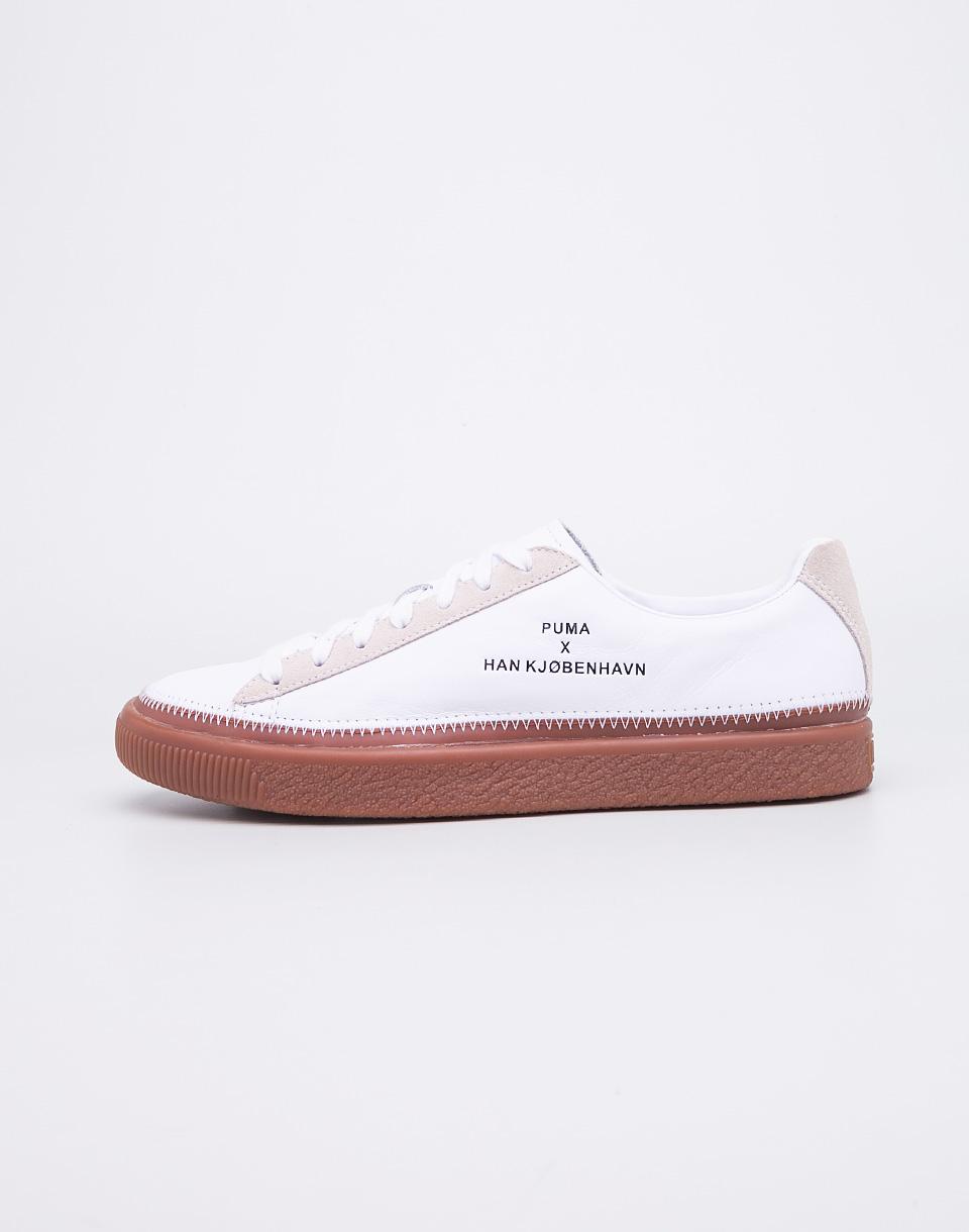 Sneakers - tenisky Puma Han Kjobenhavn Clyde Stitched Puma White 41 + doprava zdarma + novinka