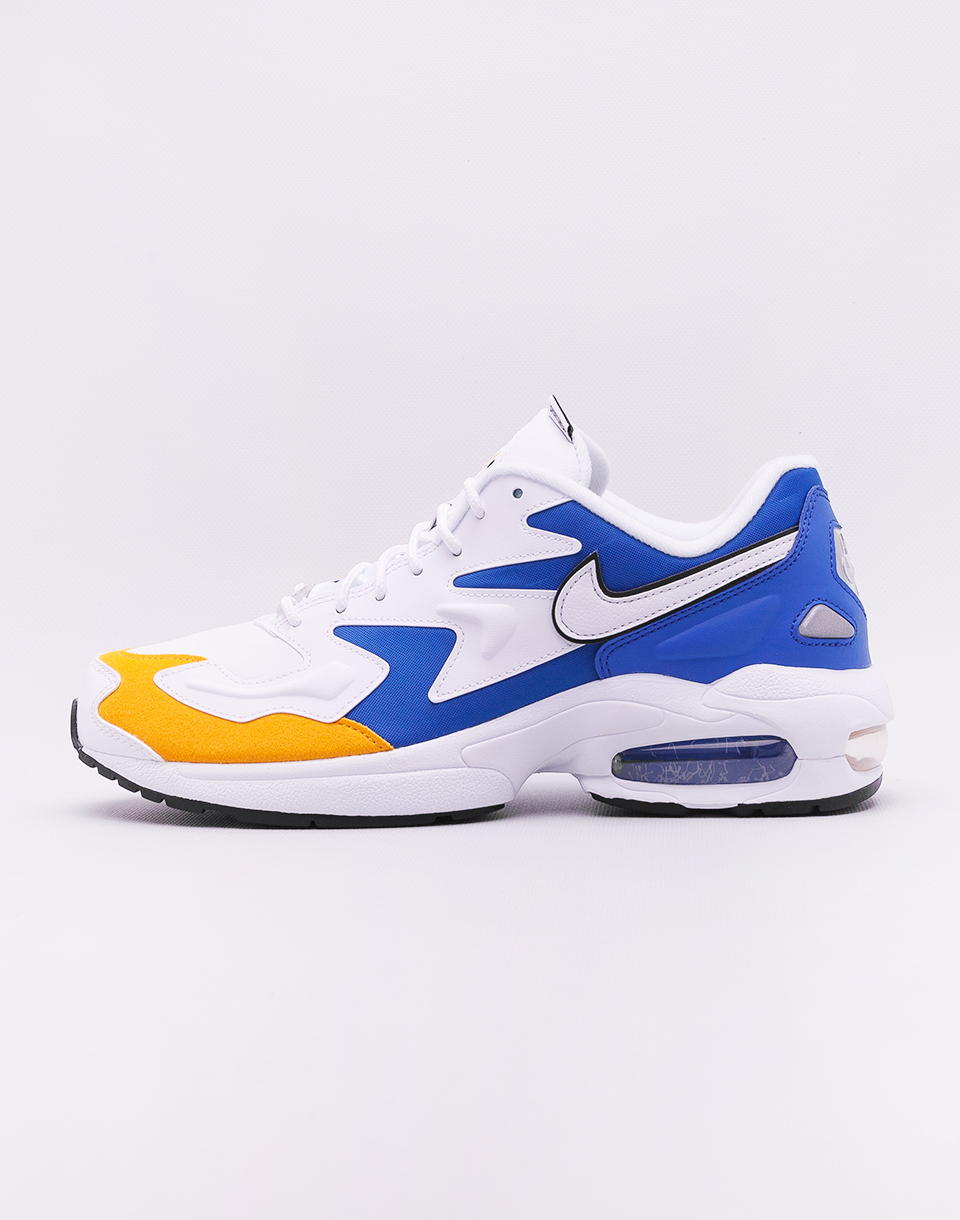 Nike Air Max2 Light Premium White White University Gold Game Royal 46