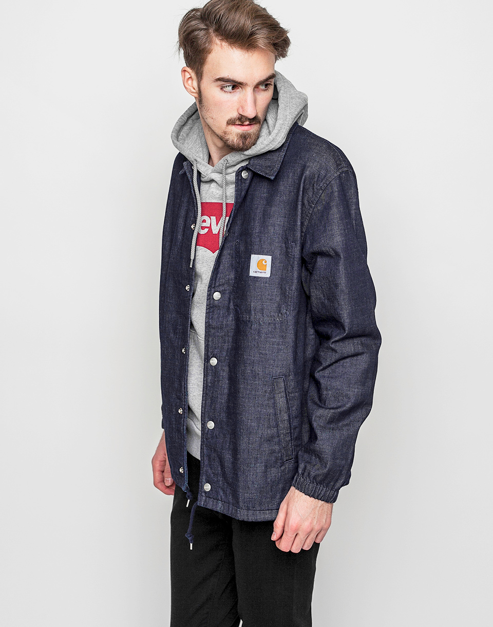 Carhartt WIP Denim Coach Blue Rinsed M