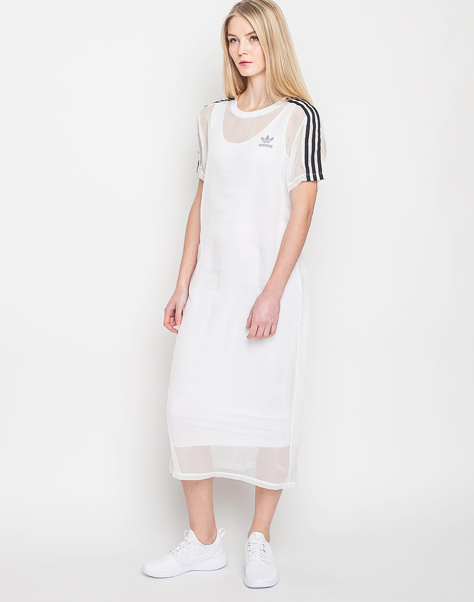 Šaty Adidas Originals 3 Stripes Layer White s