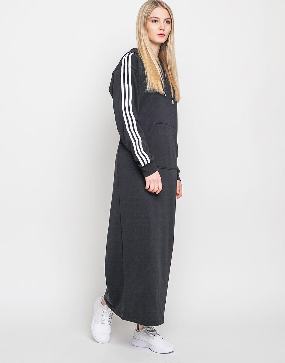 Šaty Adidas Originals 3 Stripes Hoodie black M + doprava zdarma