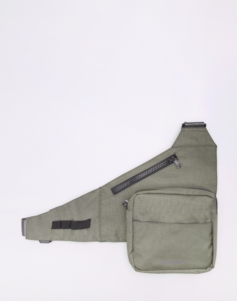 Han Kjøbenhavn Triangle Bag Army Cordura Nylon