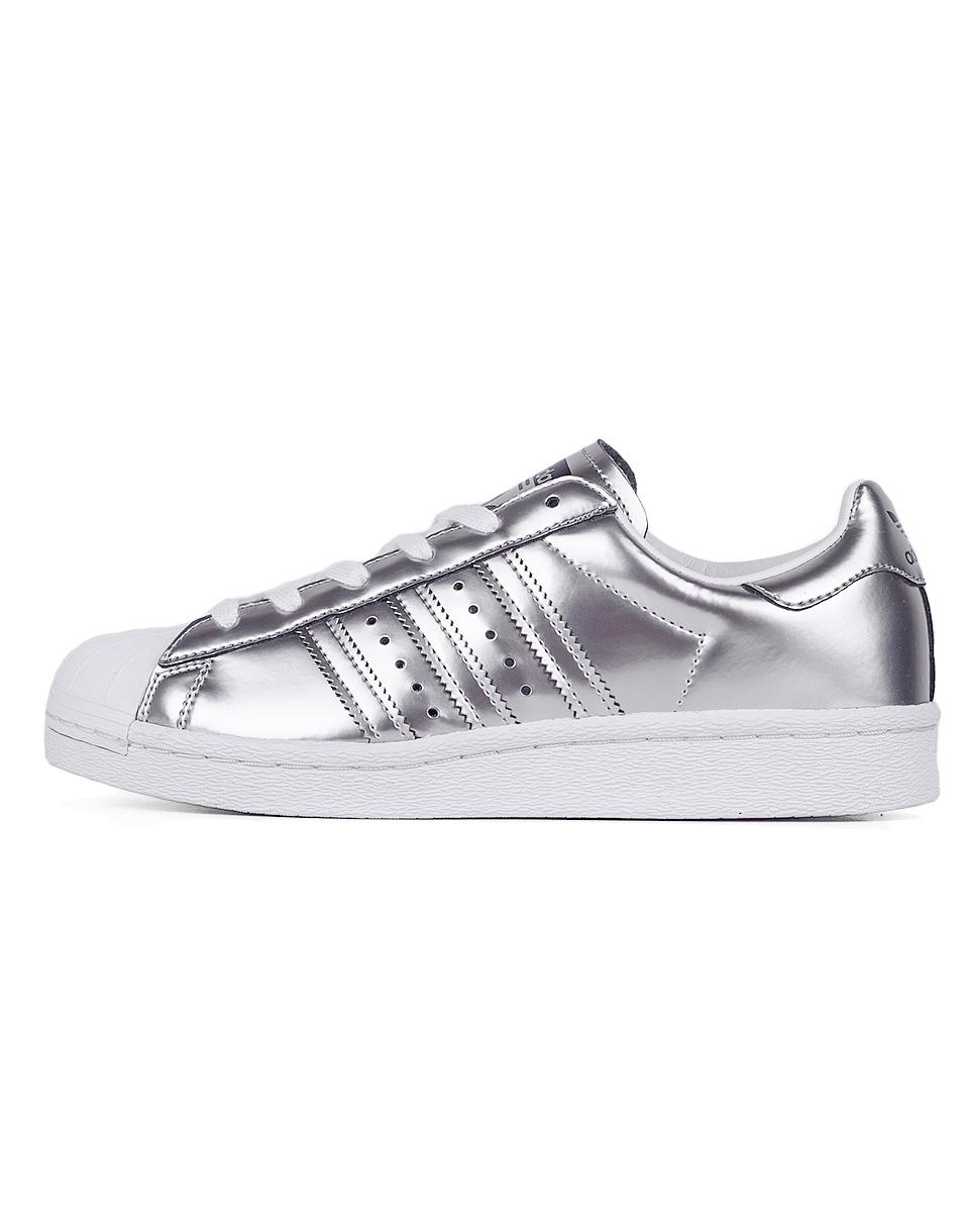 Sneakers - tenisky Adidas Originals Superstar Boost Silver Metallic / Silver Metallic / Footwear White 41 + doprava zdarma