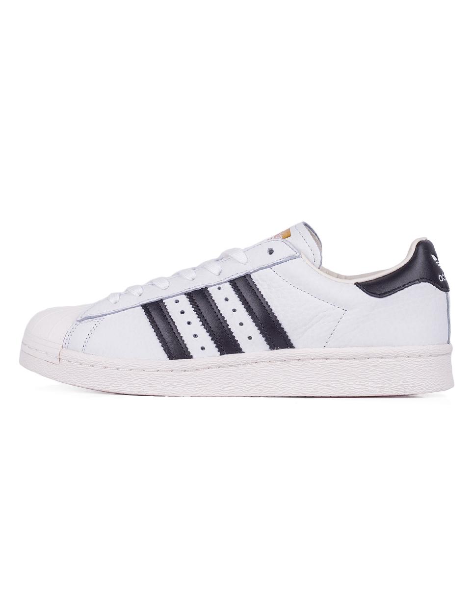 Sneakers - tenisky Adidas Originals Superstar Boost Footwear White / Core Black / Gold Metallic 41 + doprava zdarma