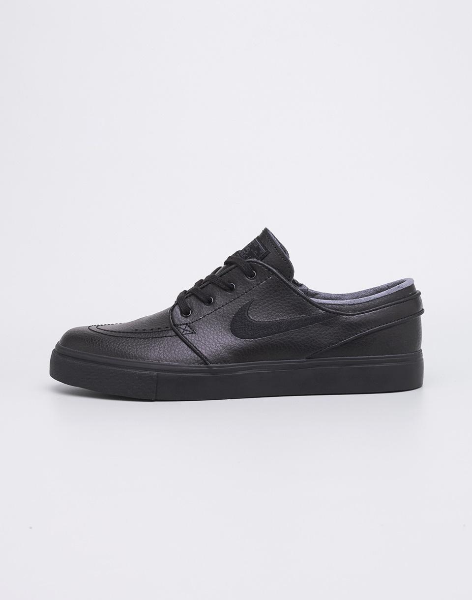 Sneakers - tenisky Nike Stefan Janoski Zoom Leather Black / Black - Black - Anthracite 40,5 + doprava zdarma
