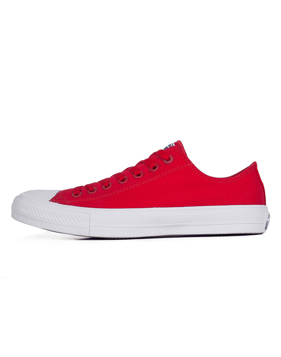 Sneakers - tenisky Converse Chuck Taylor All Star II Salsa Red/White/Navy 44