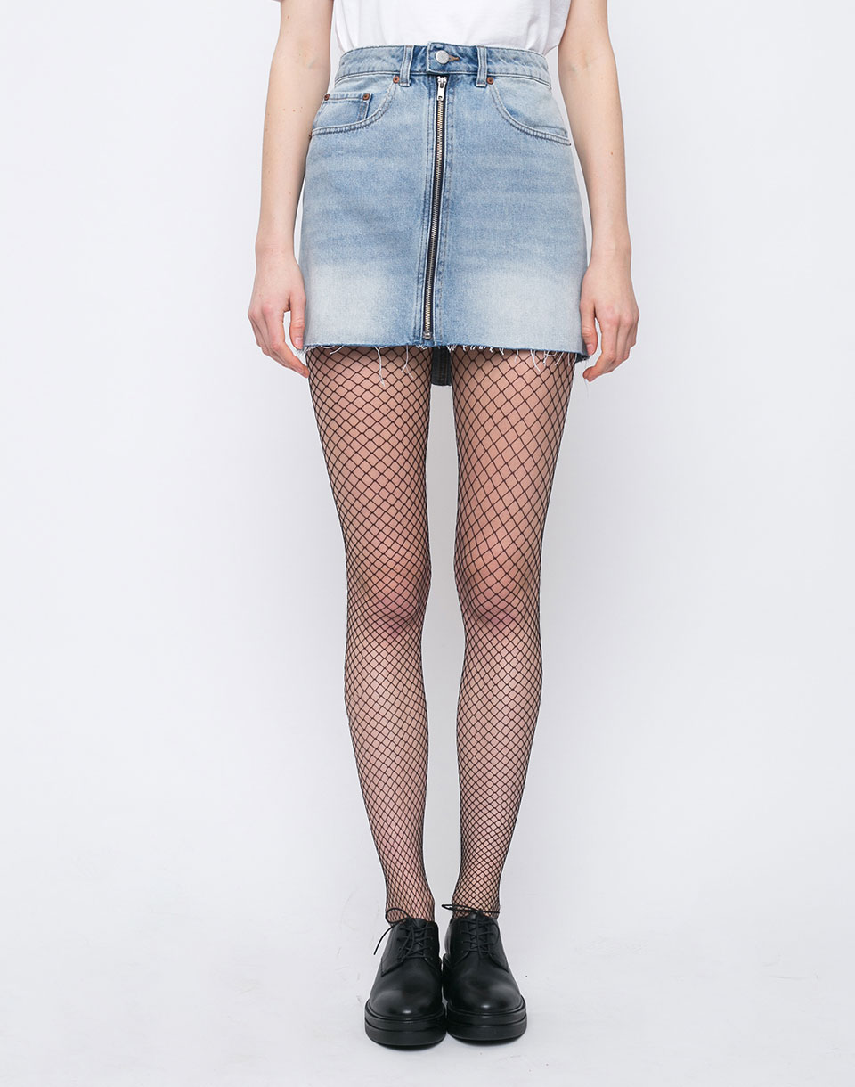 Cheap Monday Zip Short Blue Blaze S
