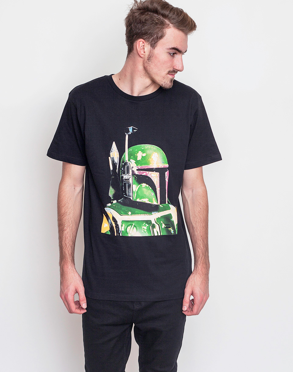 Triko Dedicated Star Wars Boba Fett Black XL