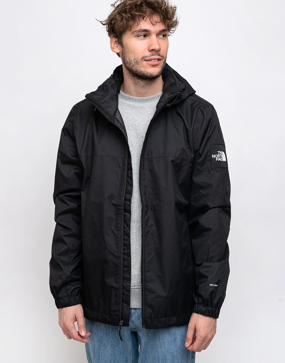 The North Face Mountain Q Jkt TNFBlack TNFWhite TNFwhite S