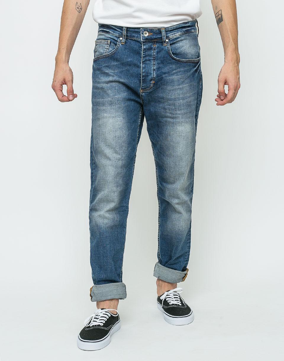 Kalhoty RVLT 5203 Denim Loose Used 31/32 + doprava zdarma + novinka