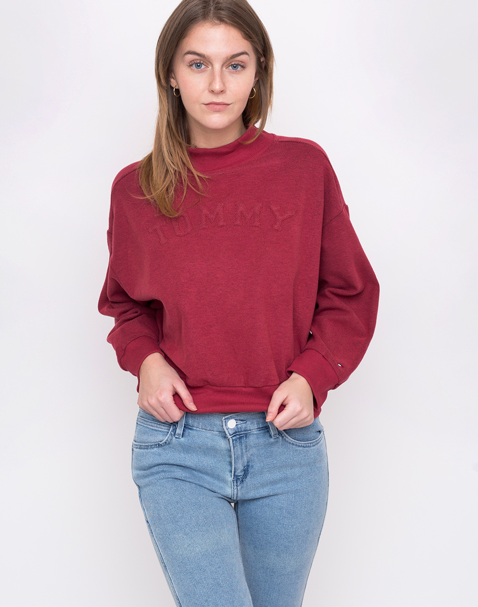 Tommy Hilfiger Track Top Earth Red L