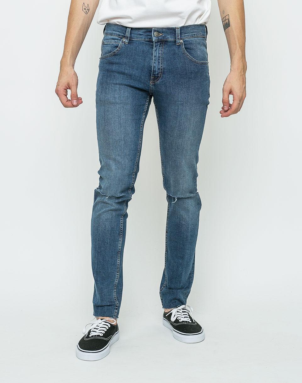Kalhoty Cheap Monday Tight Cosmo Blue w31/l32 + novinka