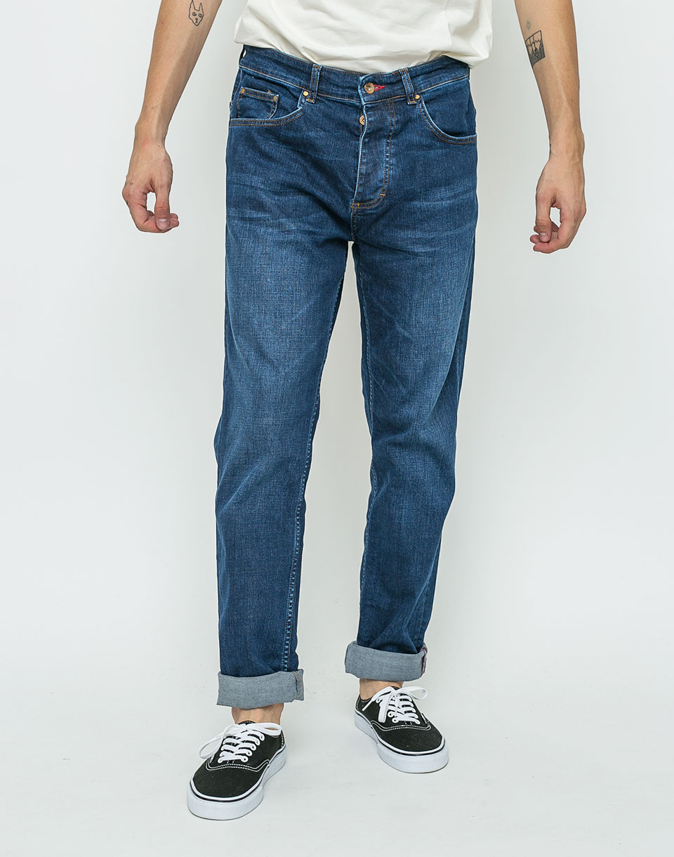 Kalhoty RVLT 5202 Denim Loose Rinse 31/32