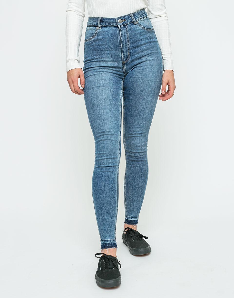 Kalhoty Cheap Monday High Spray Essential Blue w26-27 + novinka