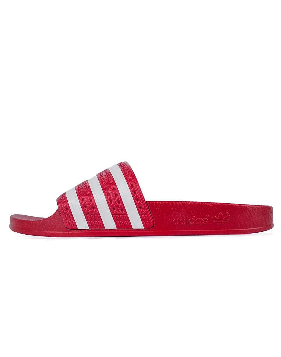Pantofle Adidas Originals Adilette Light Scarlet / White / Light Scarlet 37