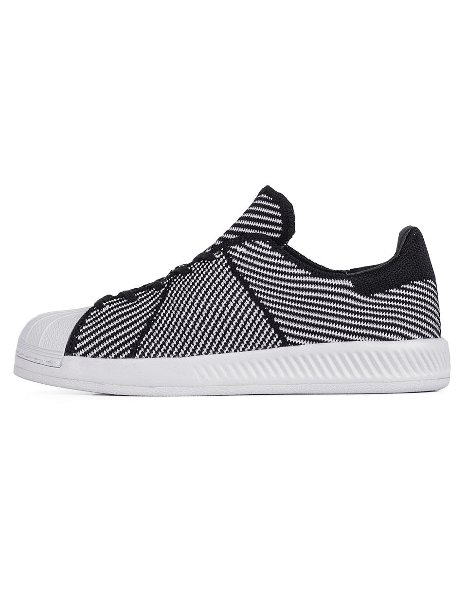 Sneakers - tenisky Adidas Originals Superstar Bounce Primeknit Core Black / Footwear White / Footwear White 41 + doprava zdarma