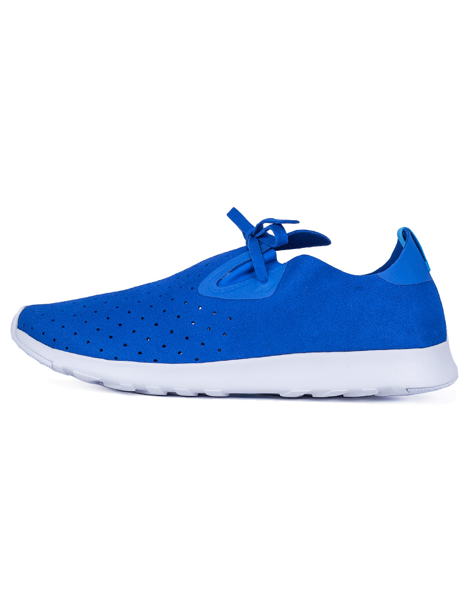 Sneakers - tenisky Native Apollo Moc victoria blue/shell rubber 41