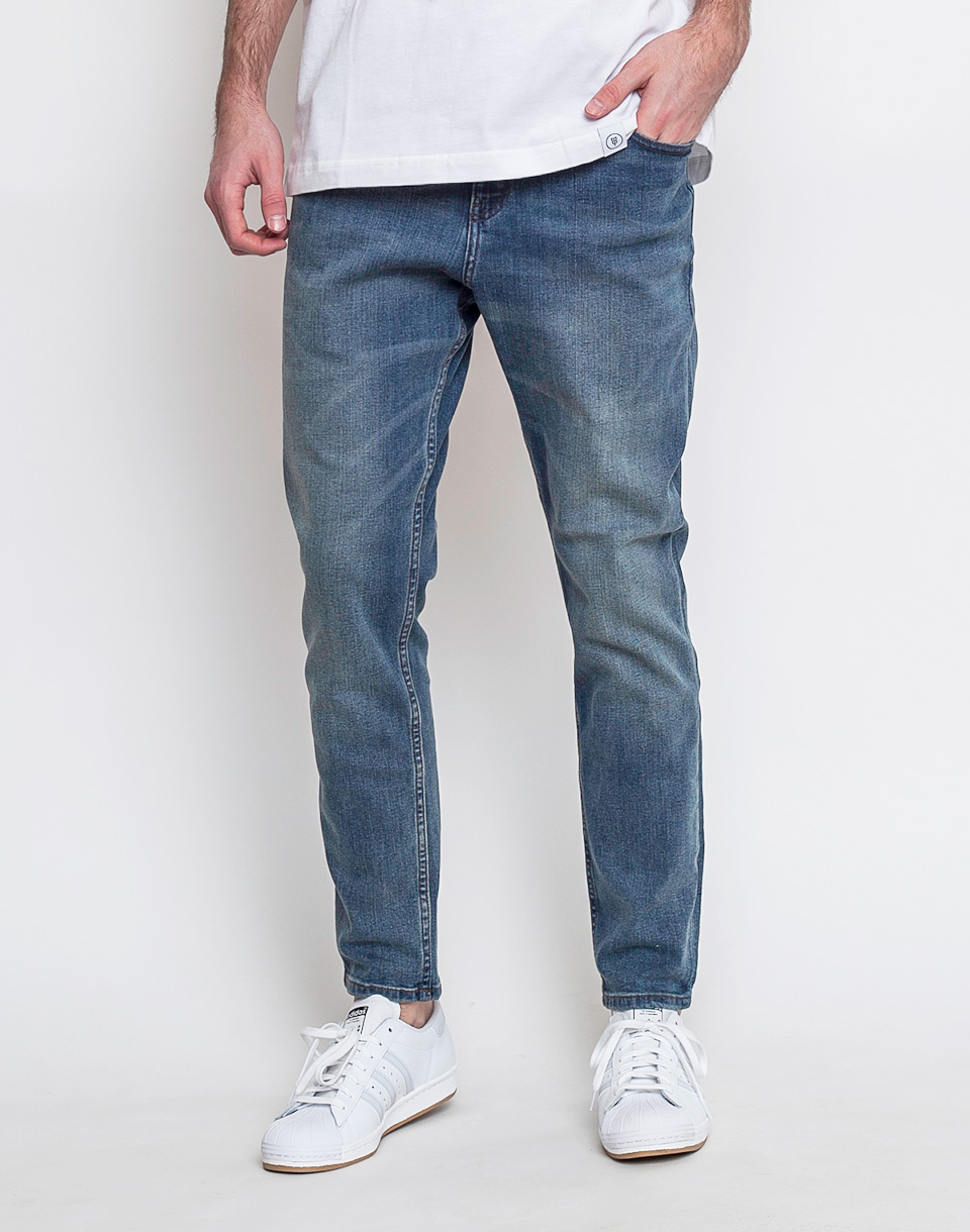 Kalhoty Cheap Monday Dropped indigo bleed w33/l34
