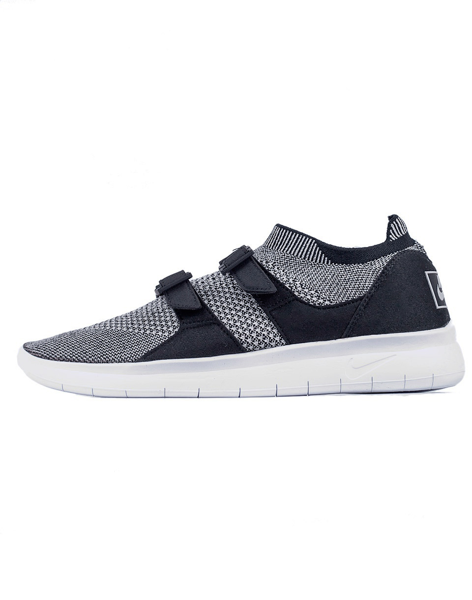 Sneakers - tenisky Nike Air Sock Racer Ultra Flyknit Black / Pale Grey - Black - White 45 + doprava zdarma