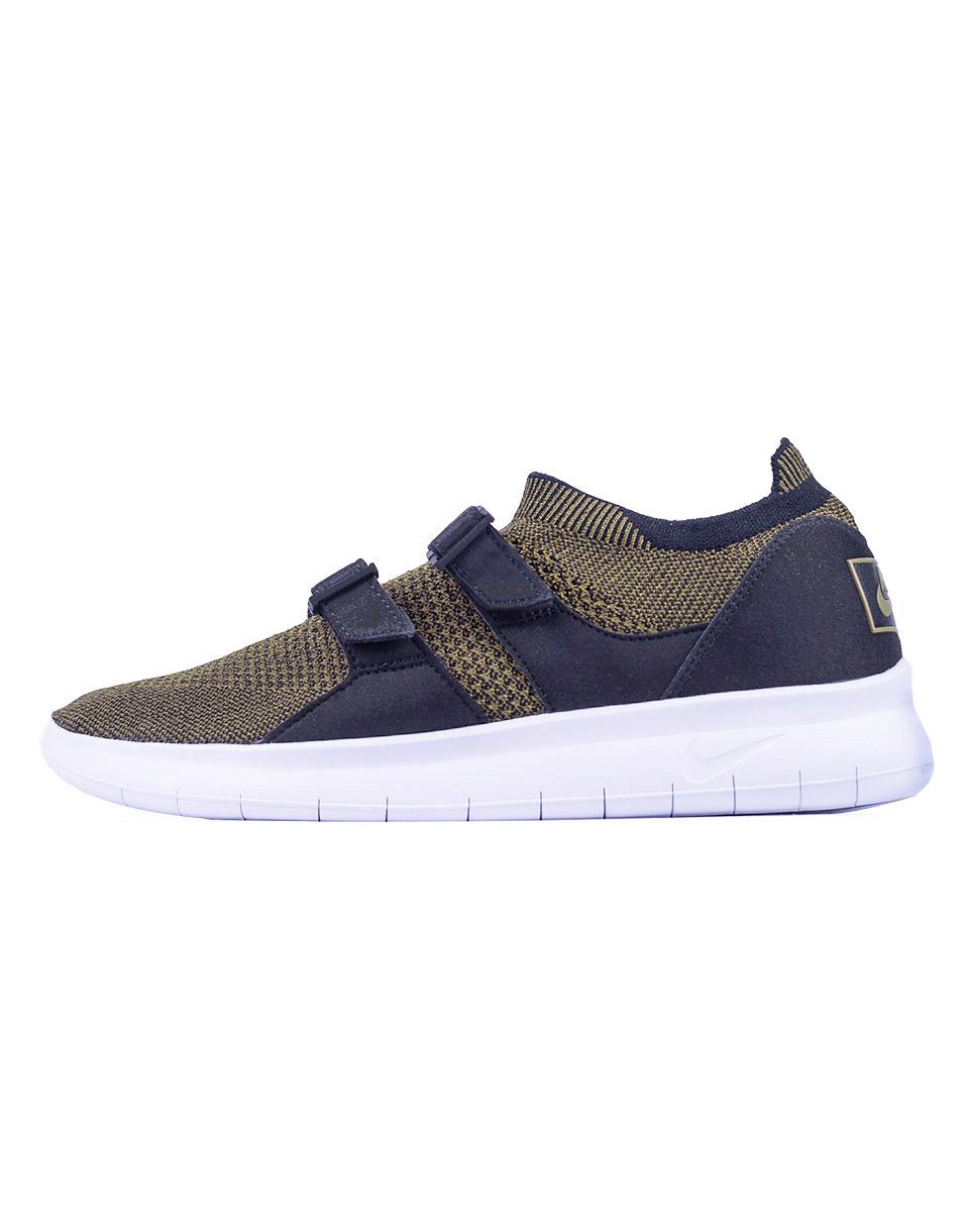 Sneakers - tenisky Nike Air Sock Racer Ultra Flyknit Black / Olive Flak - Black - White 44 + doprava zdarma