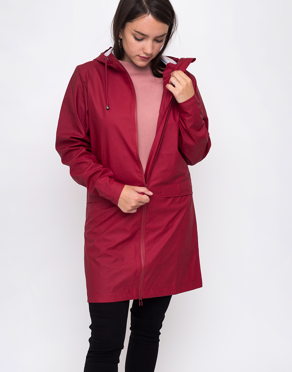 Rains W Coat 20 Scarlet M L