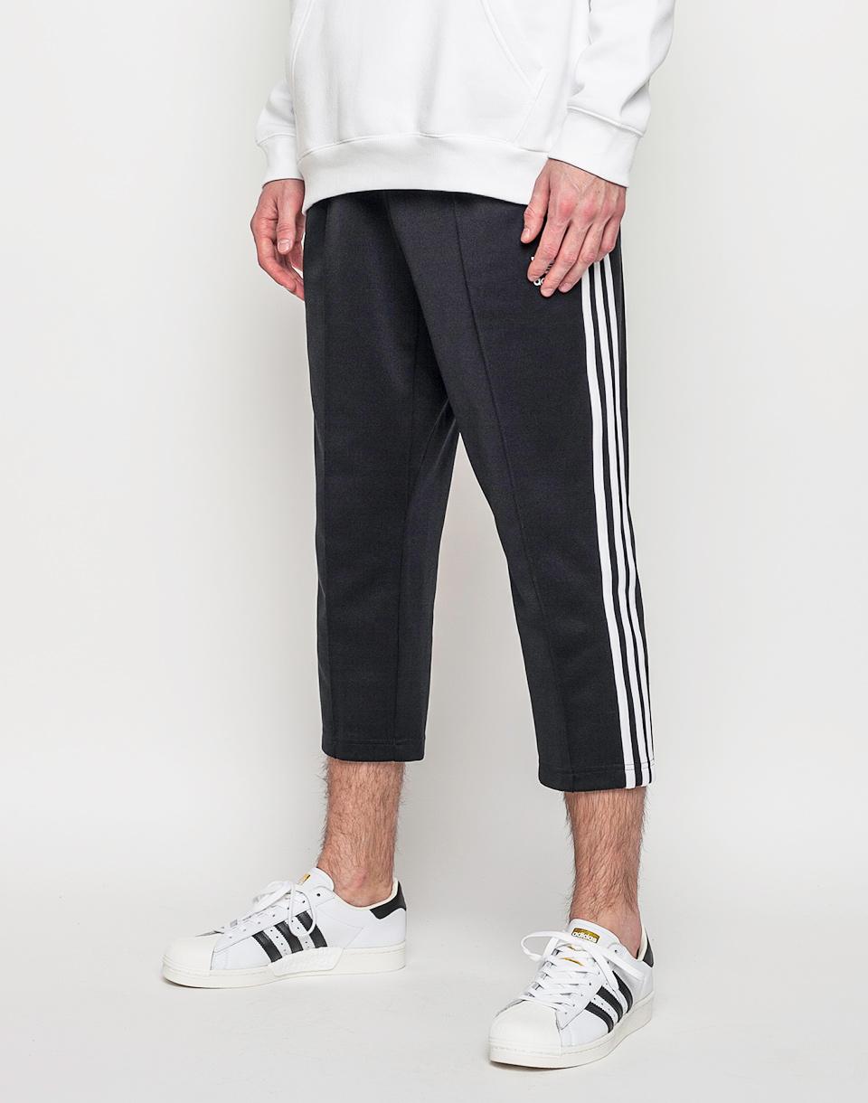 Tepláky Adidas Originals Superstar Relaxed Crop Black / White L