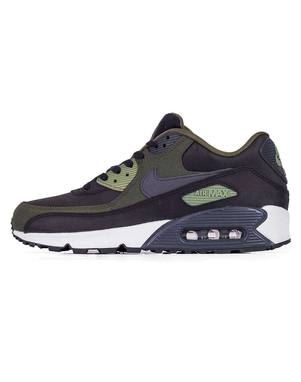 Sneakers - tenisky Nike Air Max 90 Premium Black / Anthracite - Legion Green 43 + doprava zdarma + novinka