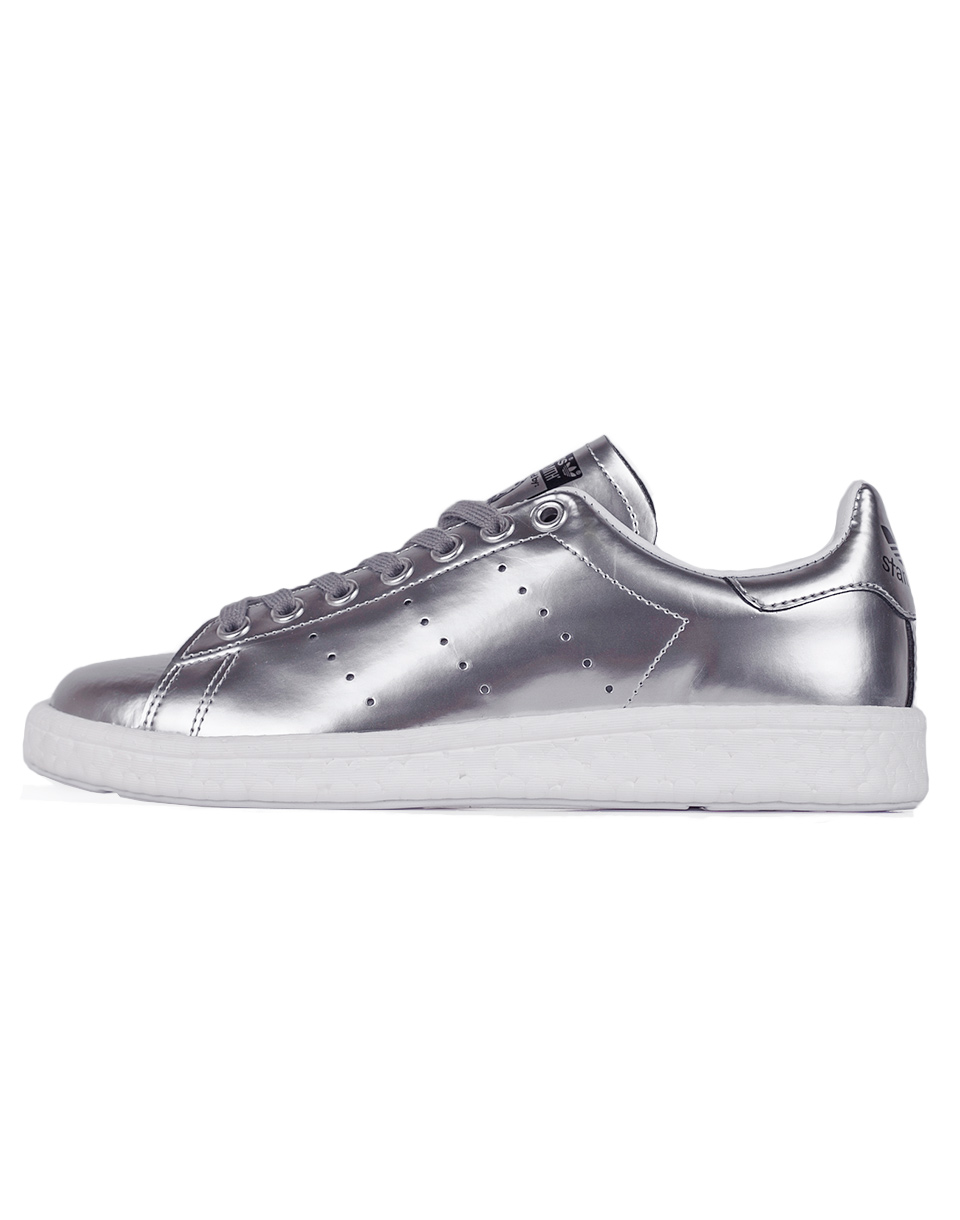 Sneakers - tenisky Adidas Originals Stan Smith Boost Silver Metallic / Silver Metallic / Footwear White 38 + doprava zdarma