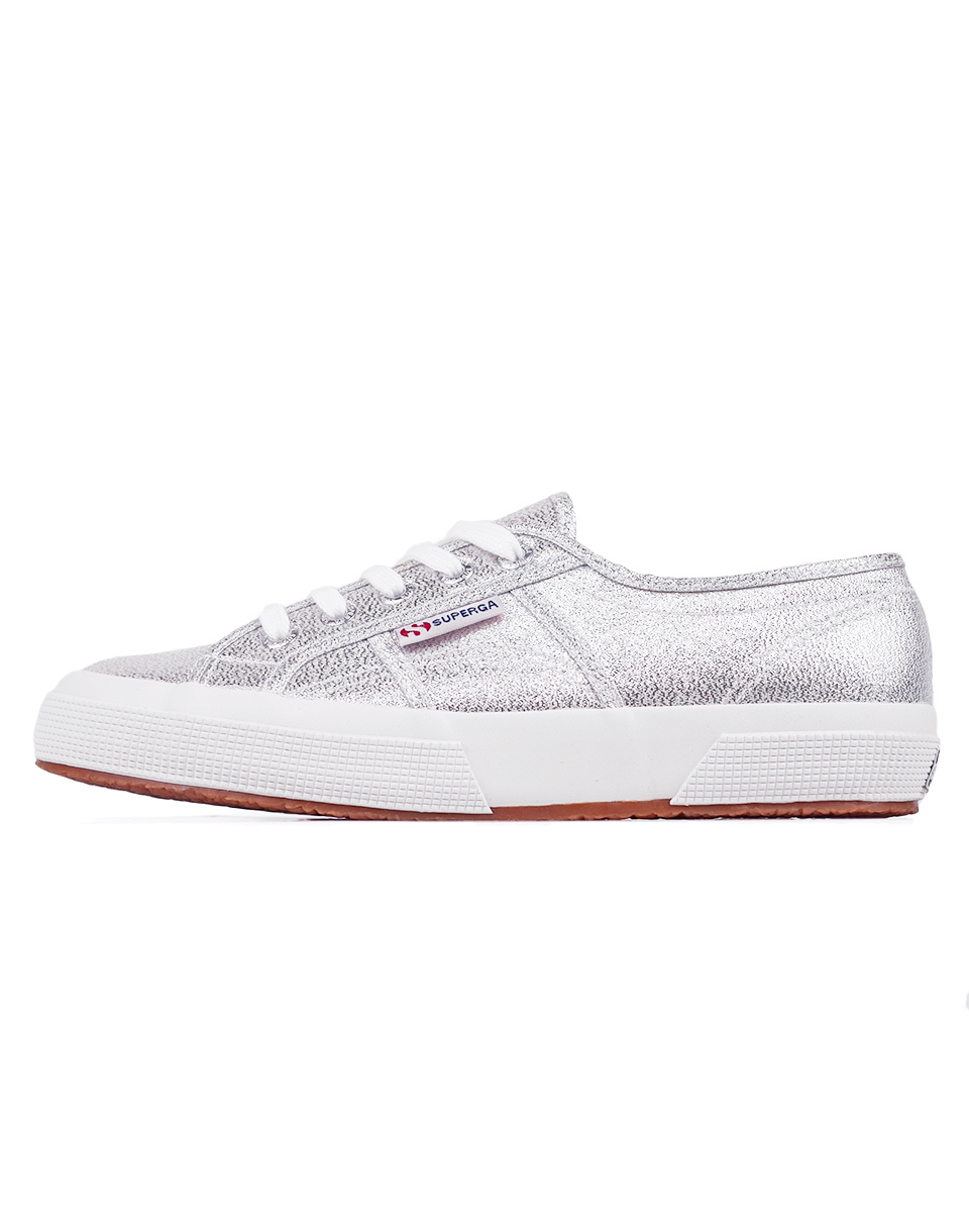 Superga 2750 Lame 031 Grey Silver 38