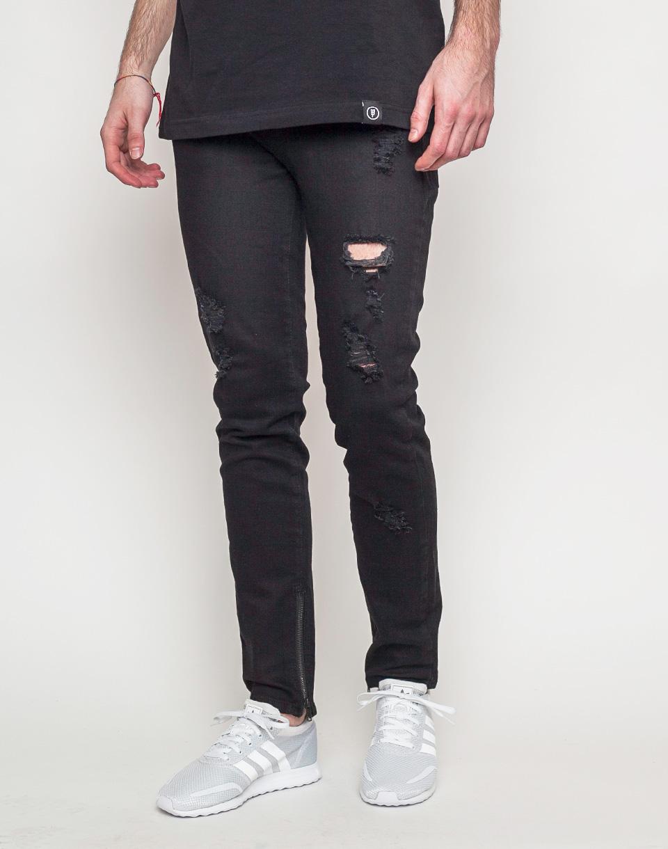 Kalhoty DRMTM Denim Black l